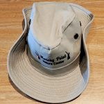 Wide brimmed safari hat