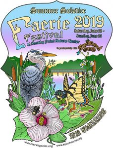 Summer Solstice Faerie Festival 2019 logo
